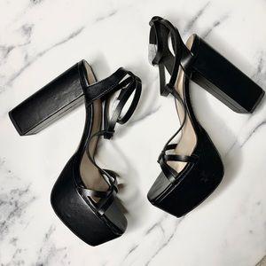 Farylrobin x FP vegan Sophia Platform Heels